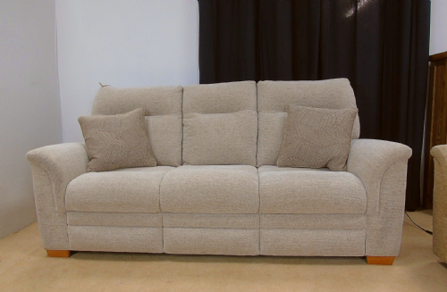 Hudson 3 Seater Sofa (caledonian pebble)